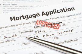 Mortgage application approved picture