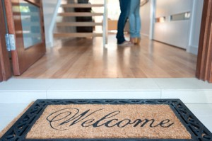 Pleasant Dale Real Estate Welcome Home Mat